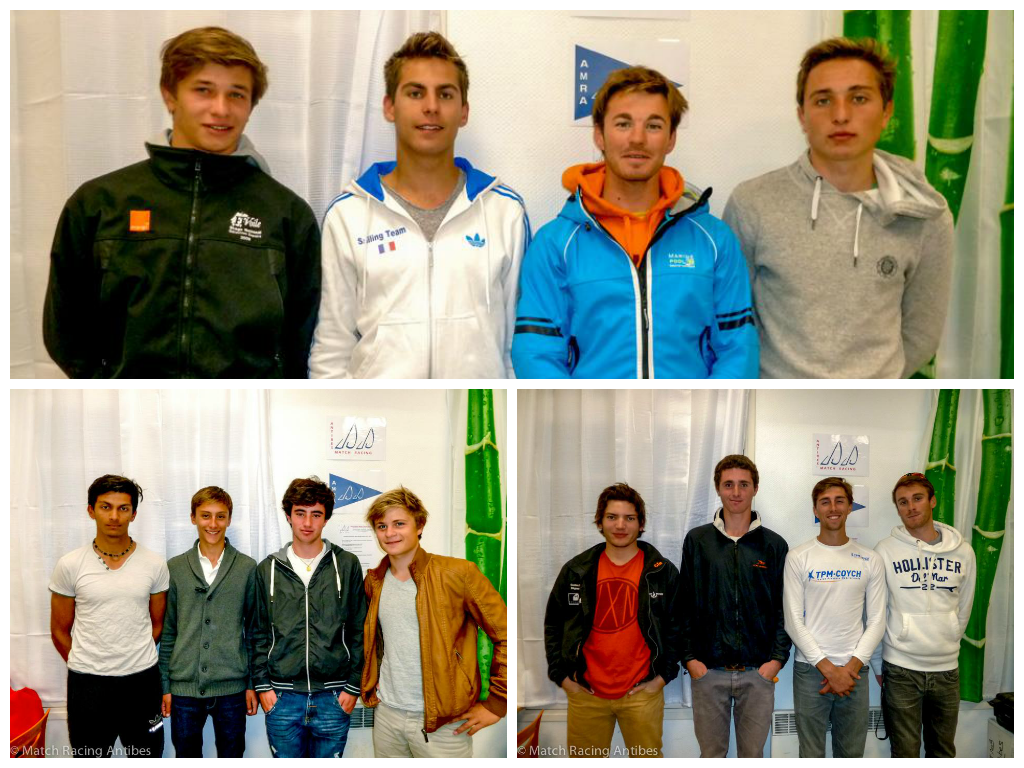 1 - Pierre Quiroga (CNTL) 2 - Robin Follin (CN Sainte-Maxime) 3 - Aymeric Arthaud (SR Antibes)