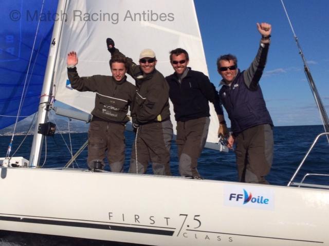 Dimitri Deruelle, Thomas Deplanque, Erik Ferran, Bruno Mourniac Champions de Méditerranée de Match Racing 2014