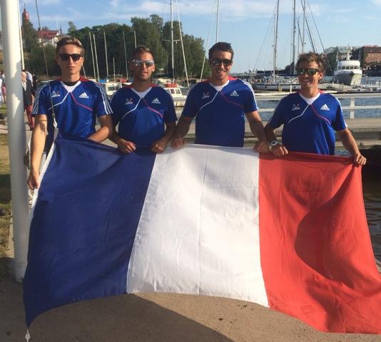 Bruno Mourniac, Gaulthier Germain, Quentin Delapierre, Pierre Quiroga