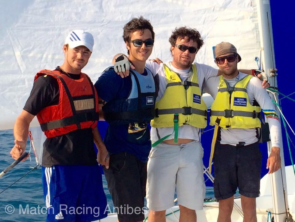 Pierre Quiroga and his crew